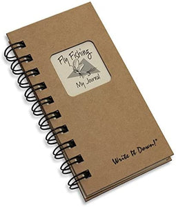 Fly Fishing Mini Journal, Kraft Tan - Bendixen's Giftware
