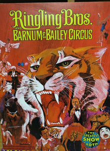 Ringling Bros. & Barnum & Bailey Circus Program - Vintage 1974