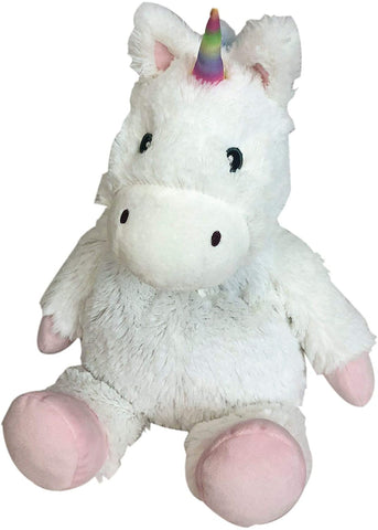 Warmies® Cozy Plush White Unicorn - Bendixen's Giftware