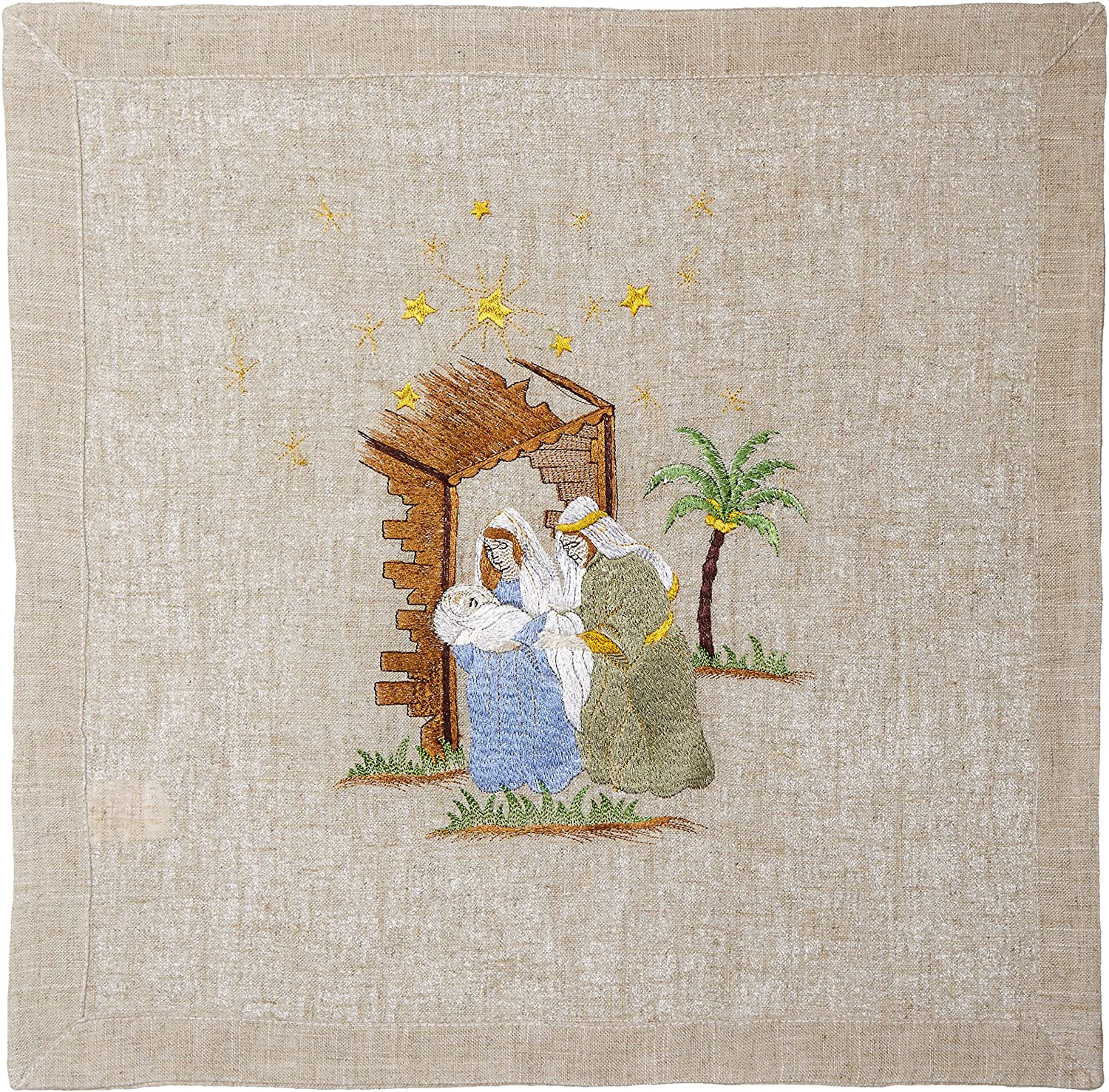 Embroidered Nativity Tableware - Bendixen's Giftware