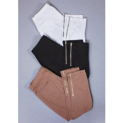 Simply Noelle Zipper Detail Capri, Choice of Colors & Sizes - Bendixen's Giftware