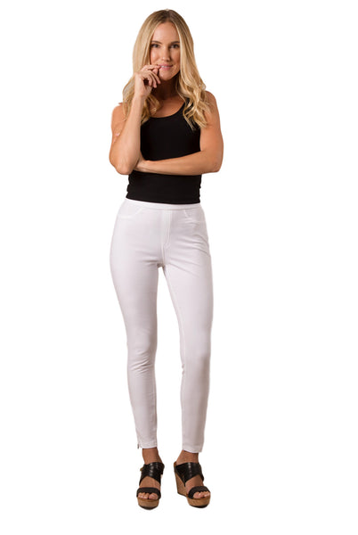 Simply Noelle Full Length Zipper Detail Pants - Bendixen's Giftware
