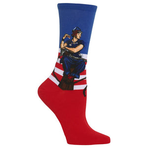 Hot Sox Womens Rosie the Riveter Fashion Socks - Bendixen's Giftware