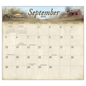 "Legacy 2021 The Road Home  Magnetic Calendar Pad - Bendixen's ""Bit of Country"" Giftware, LLC"