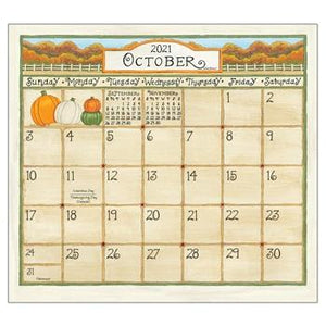 "Legacy 2021 Coming Home Magnetic Calendar Pad - Bendixen's ""Bit of Country"" Giftware, LLC"