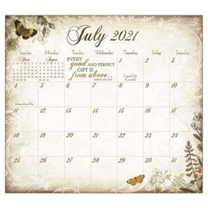"Legacy 2021 Trust In The Lord Magnetic Calendar Pad - Bendixen's ""Bit of Country"" Giftware, LLC"