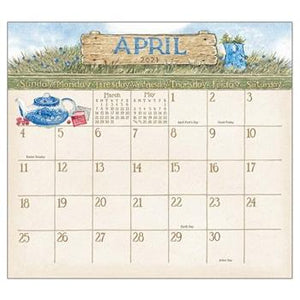 "Legacy 2021 Garden Path Magnetic Calendar Pad - Bendixen's ""Bit of Country"" Giftware, LLC"