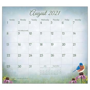 "Legacy 2021 Songbirds Magnetic Calendar Pad - Bendixen's ""Bit of Country"" Giftware, LLC"