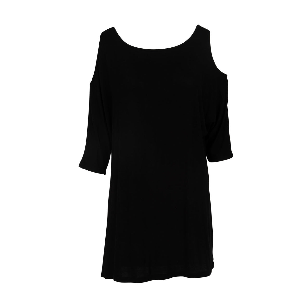 Mountain Mamas Black Breezy Shoulder Tunic in Assorted Sizes - Bendixen's Giftware