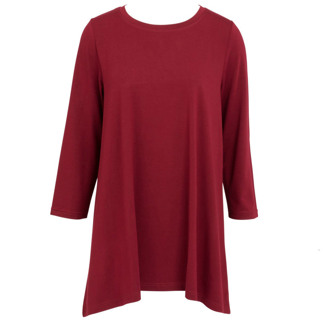 Mountain Mamas Essential Tunic in Merlot, Assorted Sizes - Bendixen's Giftware