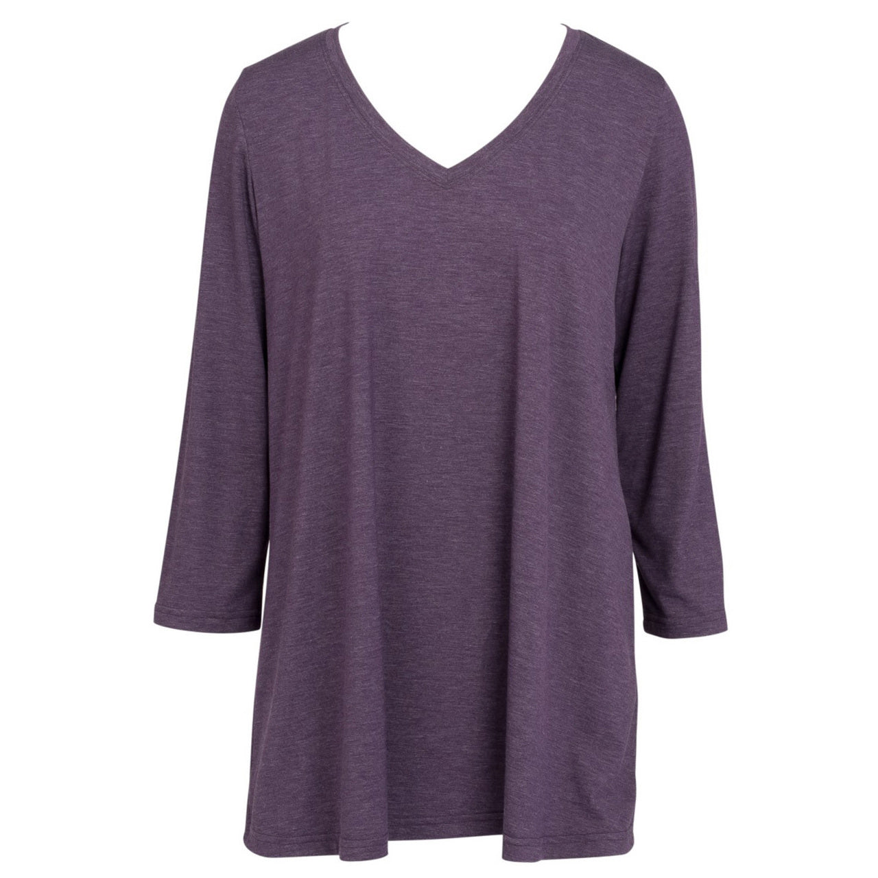 Mountain Mamas Purple Heather Tunic in Assorted Sizes - Bendixen's Giftware