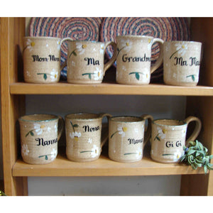Liberty Personalized Daisy Mugs - Bendixen's Giftware