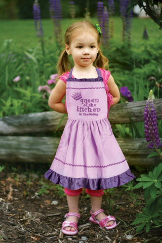 Queen of the Kitchen in Training Kids Apron - Bendixen's Giftware