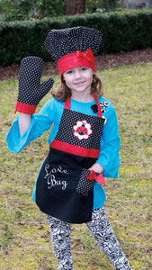 Ladybug Kids Apron Set - Bendixen's Giftware