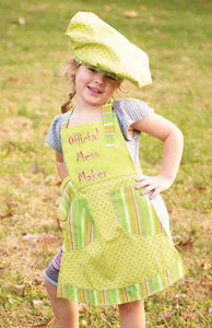 Izzy Official Mess Maker Kids Apron Set - Bendixen's Giftware