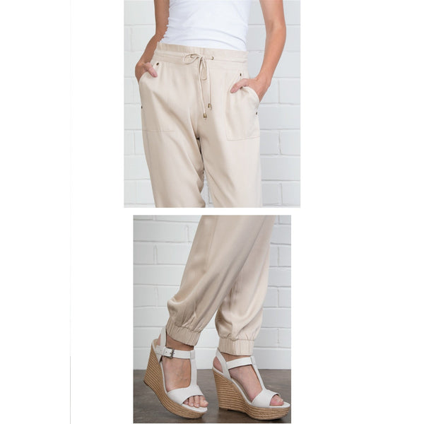 Simply Noelle Cuffed Harem Pants Assorted Colors & Sizes SUMMER SALE 30% OFF - Bendixen's Giftware