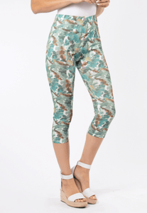 Simply Noelle Island Breeze Cropped Leggings - Bendixen's Giftware