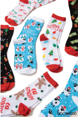 Simply Noelle Holiday Stocking Socks - Bendixen's Giftware