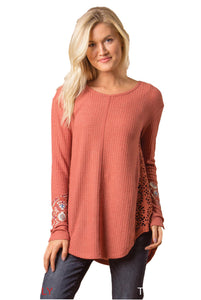 Simply Noelle Don't Mesh With My Heart Top