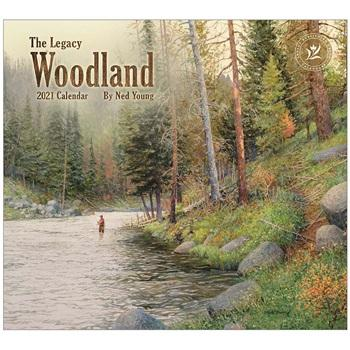 "Legacy 2021 Woodland Wall Calendar - Bendixen's ""Bit of Country"" Giftware, LLC"