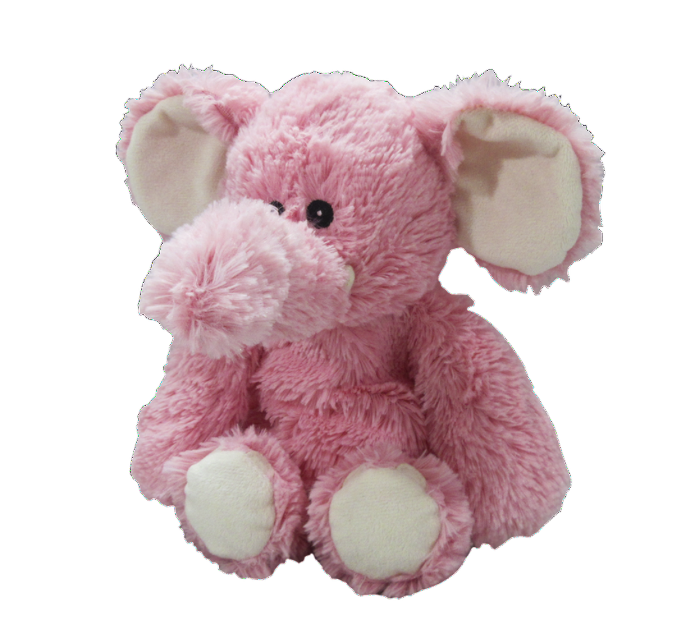 Warmies® Cozy Plush Pink Elephant - Bendixen's Giftware