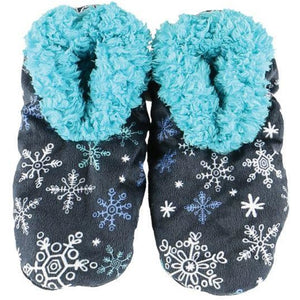 Lazy One Falling to Sleep Fuzzy Feet, Choice of 2 Sizes - Bendixen's Giftware