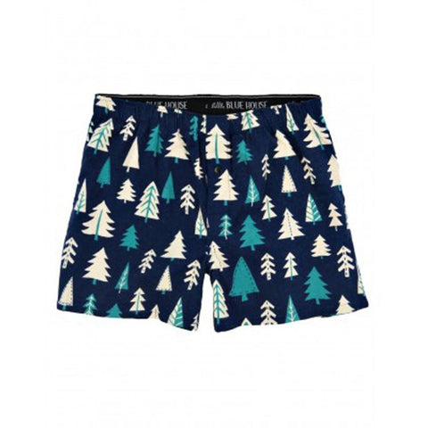 Men's Knotty Pine Trees Flannel Boxer's, Choice of Sizes