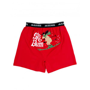 Men's Ski Bum Moose Boxer's, Choice of Sizes - Bendixen's Giftware