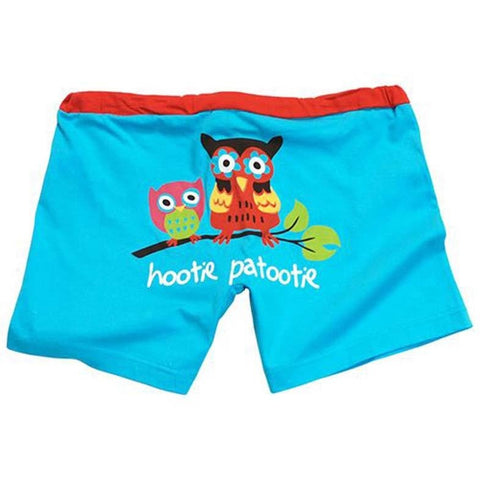 Lazy One Owl Yours Women's Boxers - Bendixen's Giftware