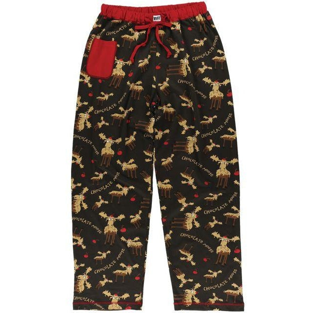 Lazy One Chocolate Moose Women's PJ Pants, Choice Of Sizes