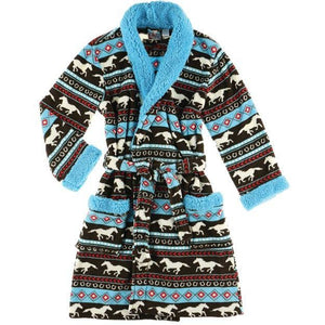 Lazy One Horse Fair Women's Bathrobe, Choice of Sizes - Bendixen's Giftware
