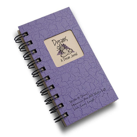 Dreams Mini Journal, Lilac - Bendixen's Giftware