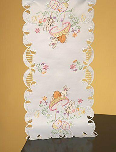 "36"" Playful Bunnies Table Runner - Bendixen's Giftware"