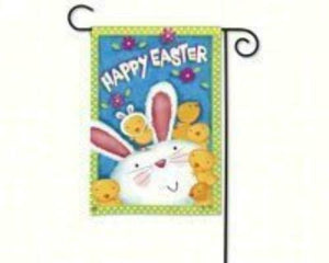 Bunny Wanna Be Garden Flag - Bendixen's Giftware