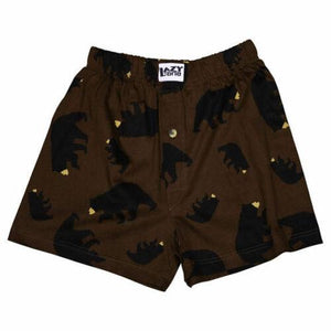 Lazy One Timberland Bear Boxers - Bendixen's Giftware