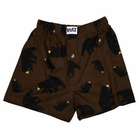 Lazy One Timberland Bear Boxers