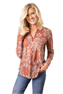 Simply Noelle Day Dreaming Printed Thermal Top - Bendixen's Giftware