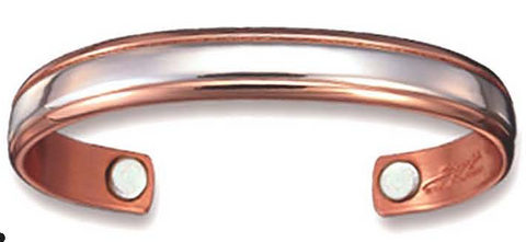 Magnet-Bracelet-with-Copper-and-Sterling-Silver-Sergio-Lub-Bracelet-for-Health-Longevity-Balance