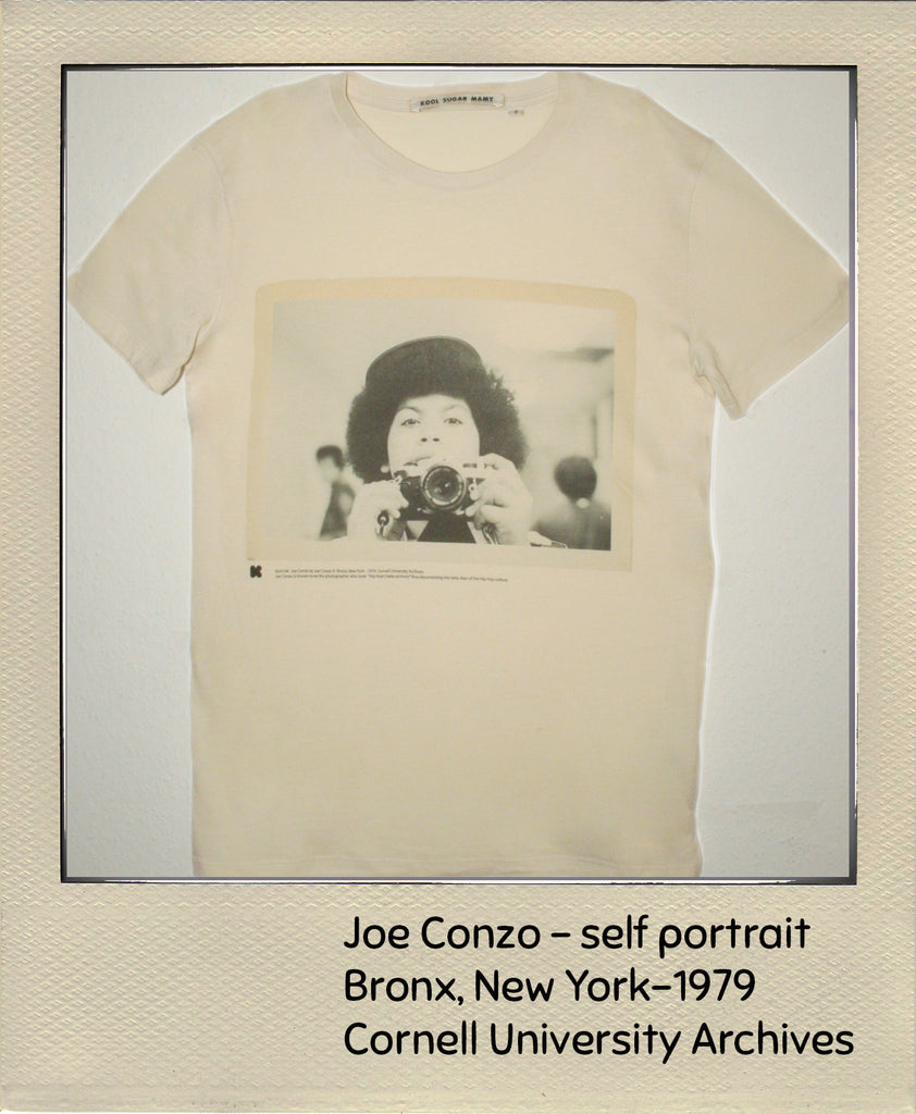 Joe Conzo - woman 1970's Selfportrait soft touch short sleeve tshirt