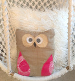 owl pillow | calzico