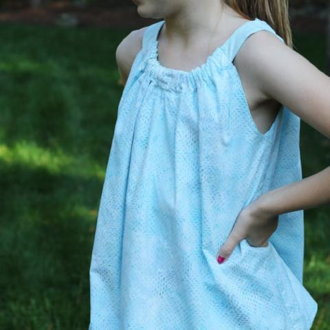 Sola Reversible Tank Light Blue/Mint