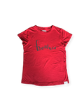 Bonheur (Happiness) Tee Red