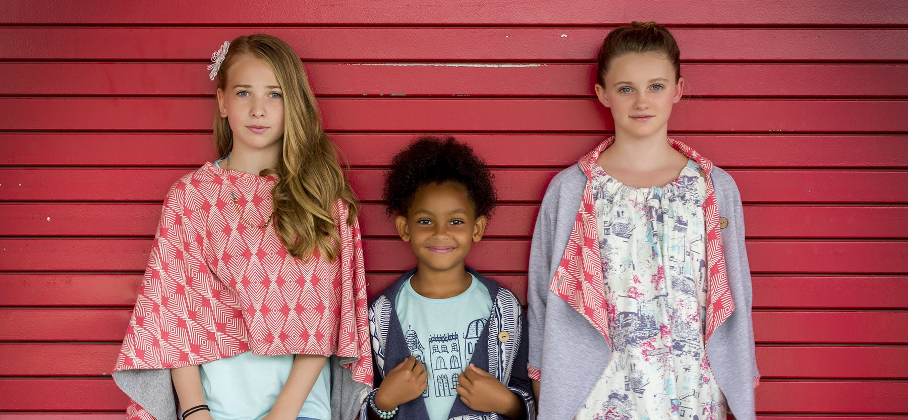 Versatile tween dresses, skirts, tops and tees. Calzico