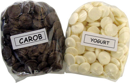 Yogurt and Carob Coated Items
