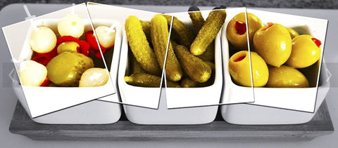 Vegetables, Olives & Pickles