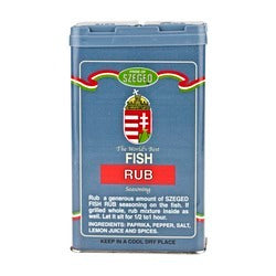 Pride of Szeged Fish Rub