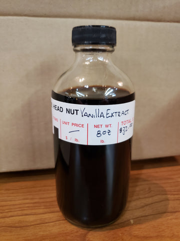 Head Nut 8 Ounce Vanilla Extract