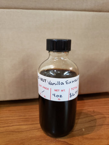 Head Nut 4 Ounce Vanilla Extract