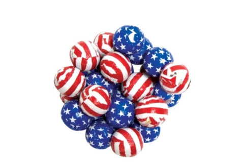 Madelaine Stars and Stripes Chocolate Balls