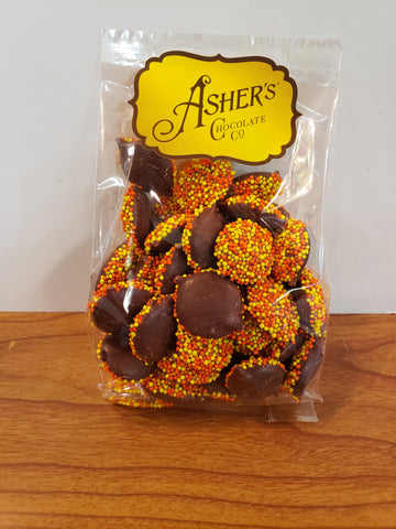 Asher's Milk Chocolate Nonpareils with Fall Seed
